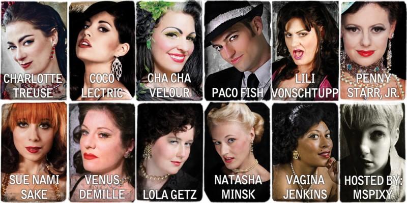 Burlesque Extravaganza: Performers