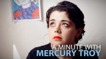 A Minute With Mercury Troy