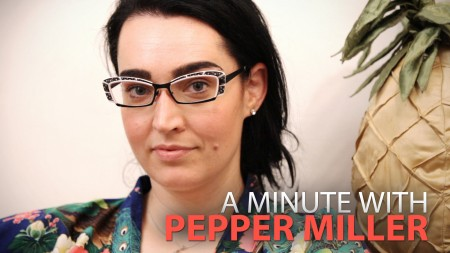 A Minute With Pepper Miller