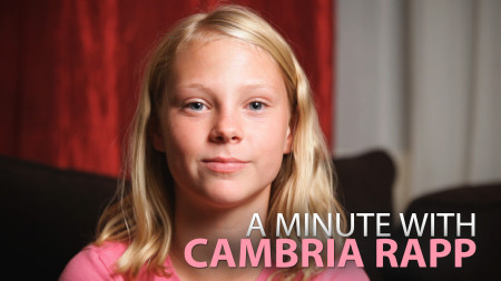 A Minute With Cambria Rapp