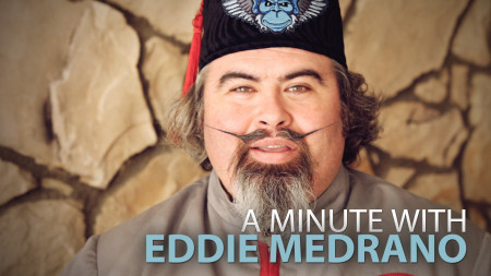 A Minute With Eddie Medrano