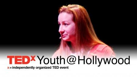 She was born this way: Katy Sullivan at TEDxYouth@Hollywood