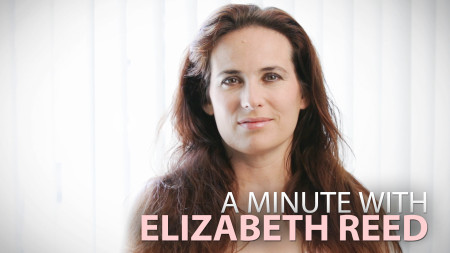 A Minute With Elizabeth Reed