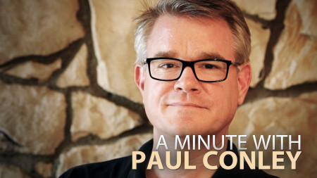 A Minute With Paul Conley