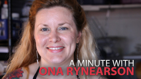 A Minute With Ona Rynearson