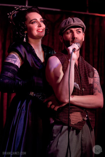 Dizzy Von Damn! & Bobbie Burlesque