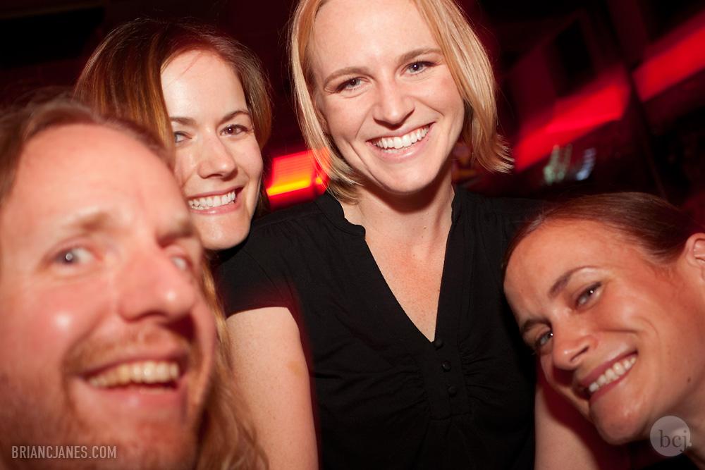 BCJ, Peggy, Elise & Kathy