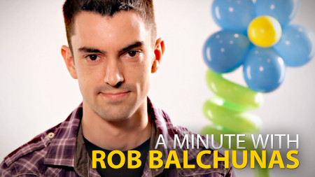 A Minute With Rob Balchunas